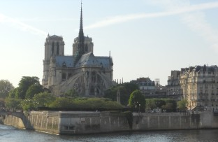 Notre Dame along the Seine