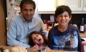 Cousin Shailesh, Lara & Ciaran
