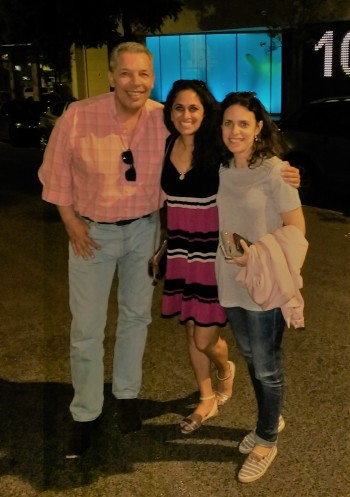 Francisco, myself & Ana