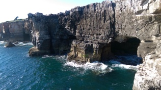 Ocean side of Boca do Inferno