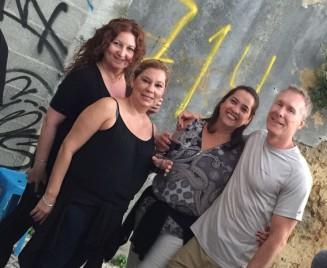 Claudia, Diana, Ligia & Mark